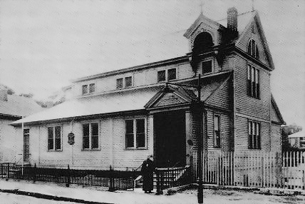 The first traditional Armenian church in America – Worcester, Massachusetts, 1891; an Armenian Protestant house of worship in the same town dates to a decade earlier.