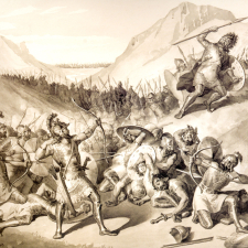 Selon la tradition, Hayk aurait battu Bel le 11 Août, 2492 avant JC