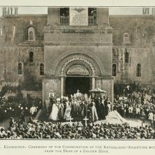 Le siège du Catholicos de tous les Arméniens est à Etchmiadzin en Arménie.