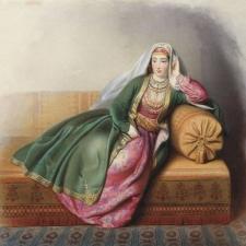 Une des plus anciennes œuvres en géorgien est écrite à propos d'une Arménienne.