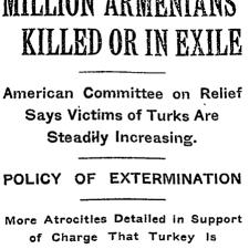 Les massacres et déportations arméniennes ont été largement rapportés dans la presse internationale entre les années 1890 et 1920.
